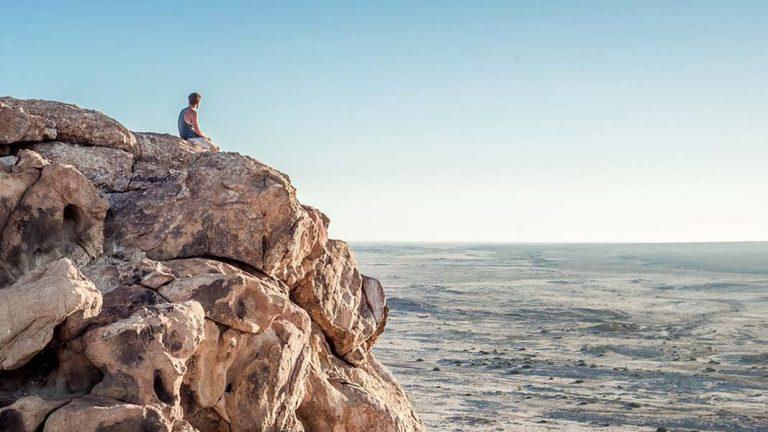Traveller Rocky Cliffs Barren