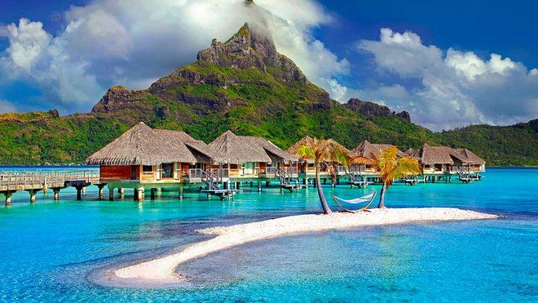Bora Bora Island Caribbean Tahiti
