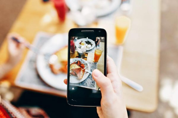 Capturing Food Pic Was Trending Nowadays
